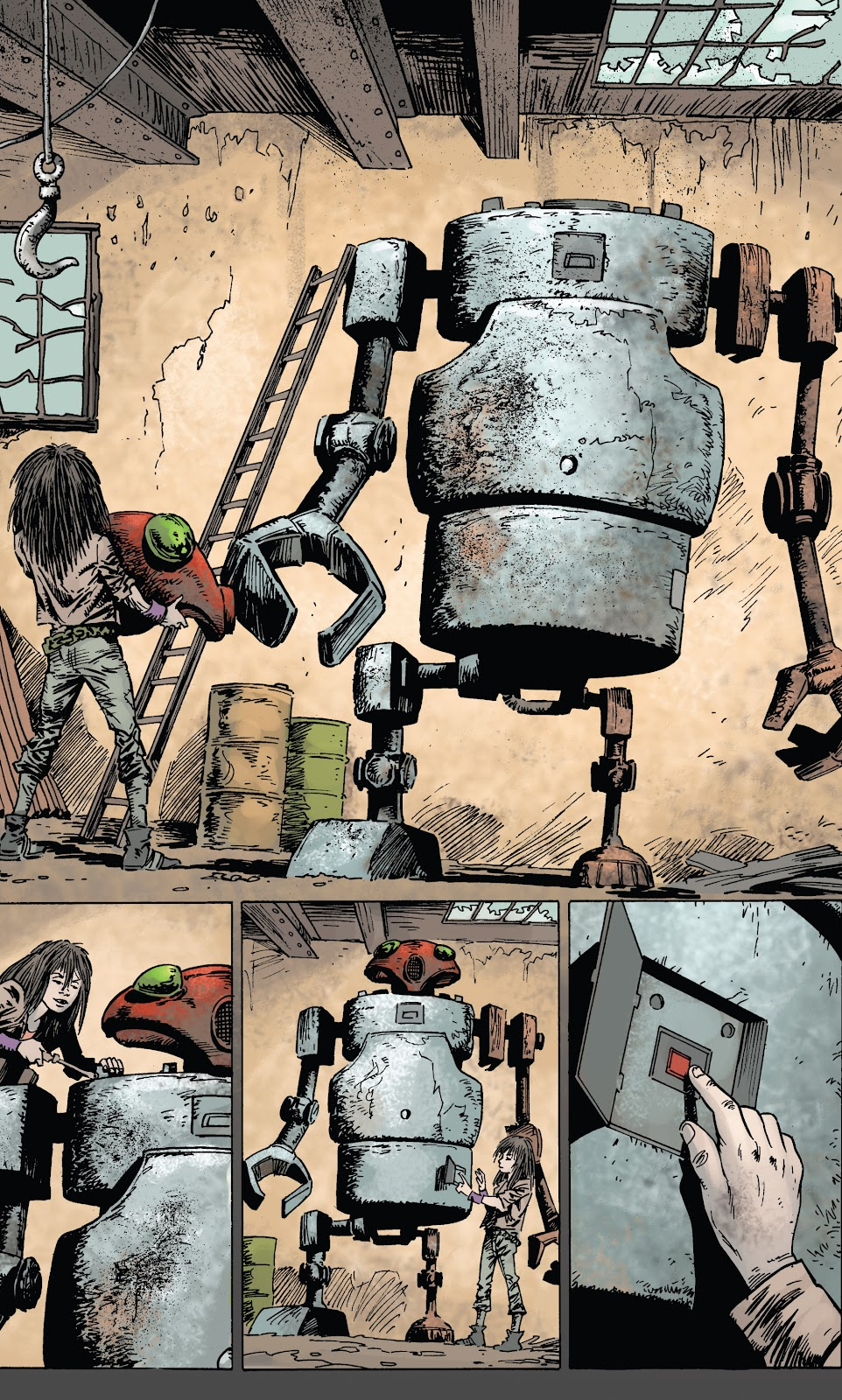 Zombies vs Robots (2015) Issue #1 Page 21