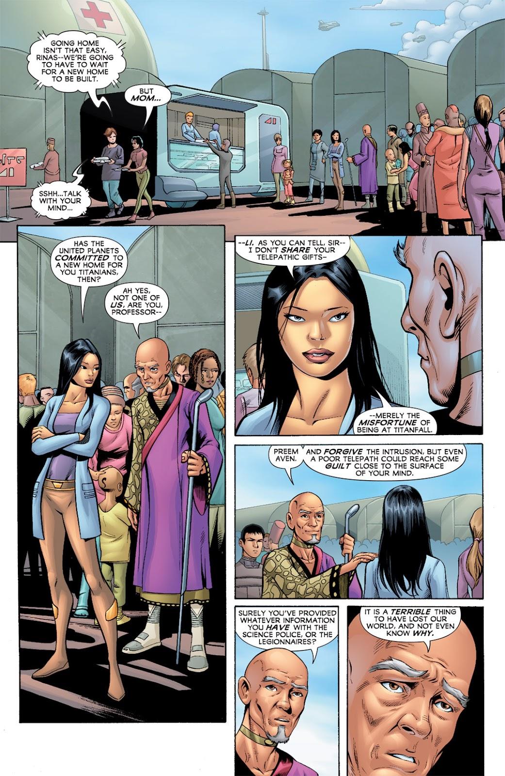 Legion of Super-Heroes (2010) Issue #3 #4 - English 19