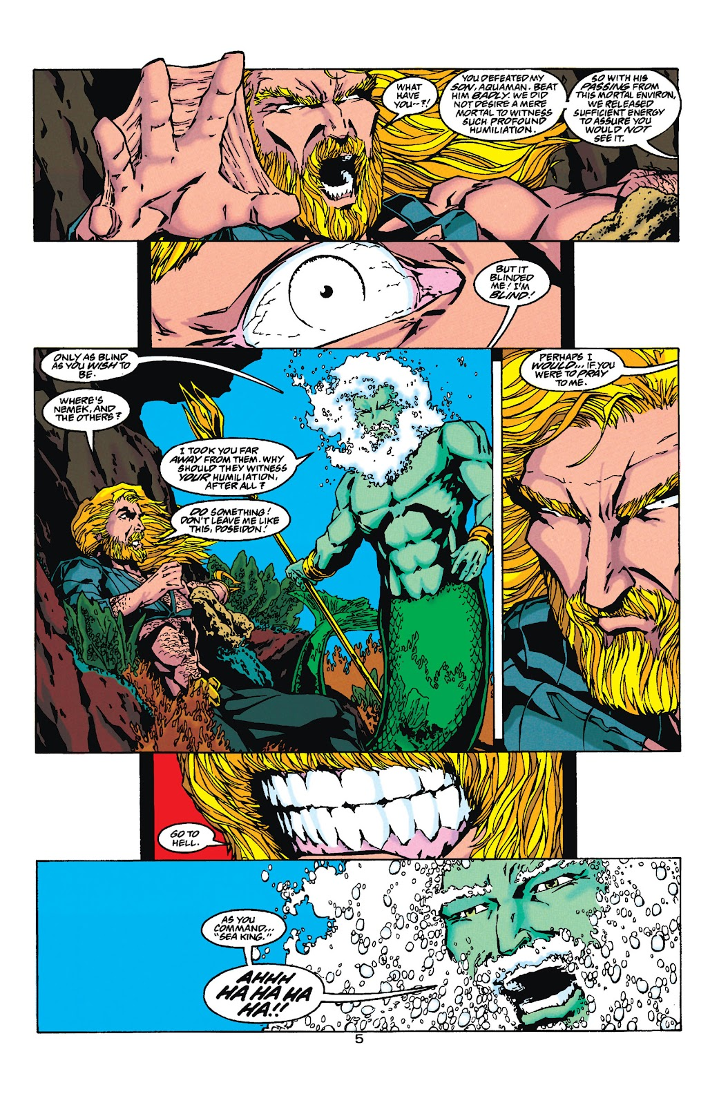 Aquaman (1994) Issue #35 #41 - English 5