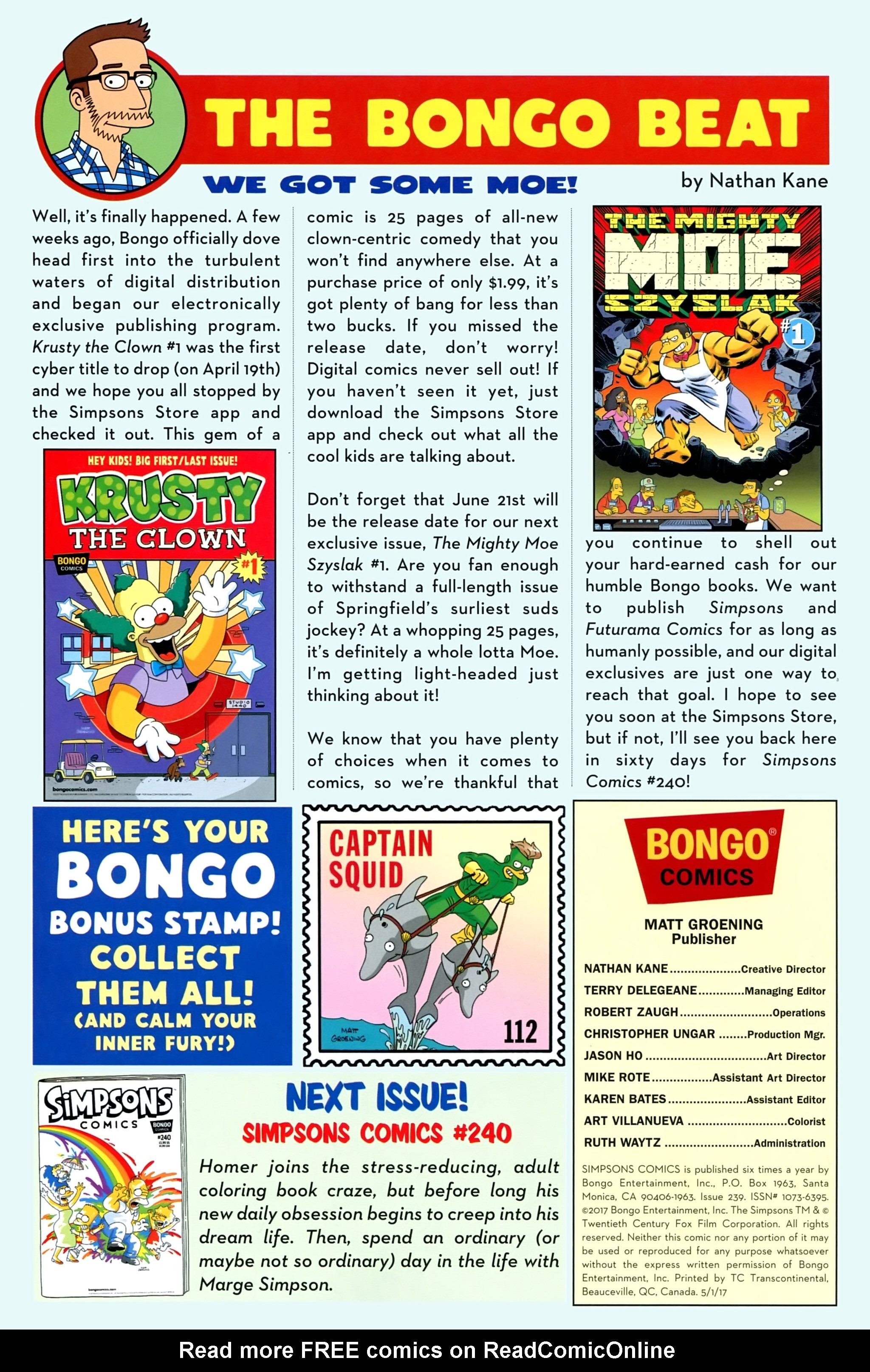 Read online Simpsons Comics comic -  Issue #239 - 28