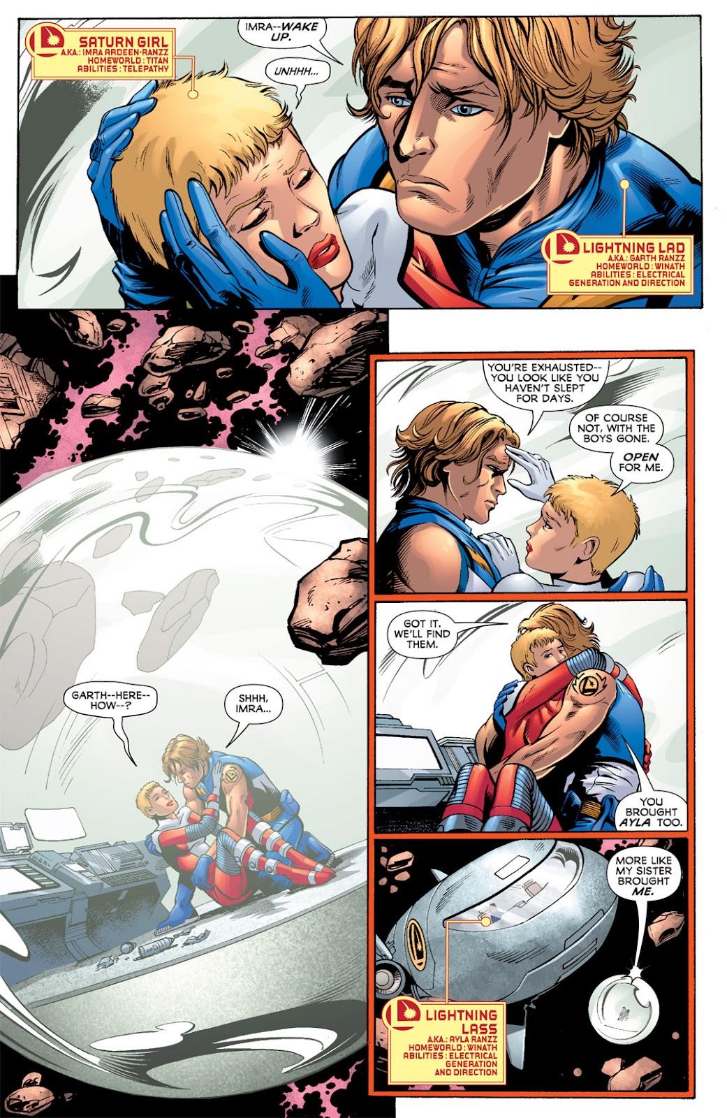 Legion of Super-Heroes (2010) Issue #3 #4 - English 10