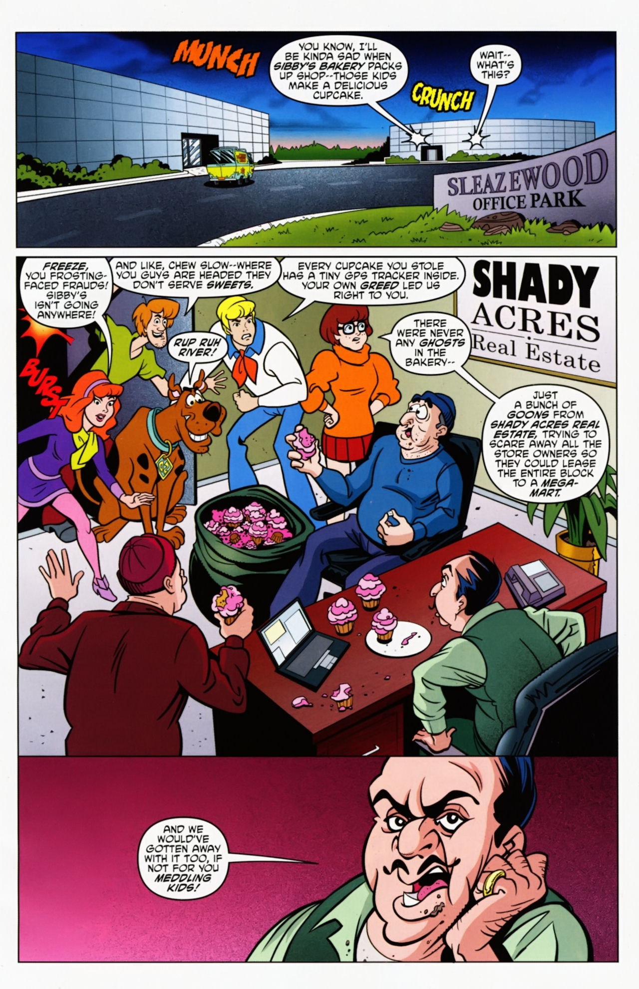 Read online Scooby-Doo: Where Are You? comic -  Issue #8 - 13