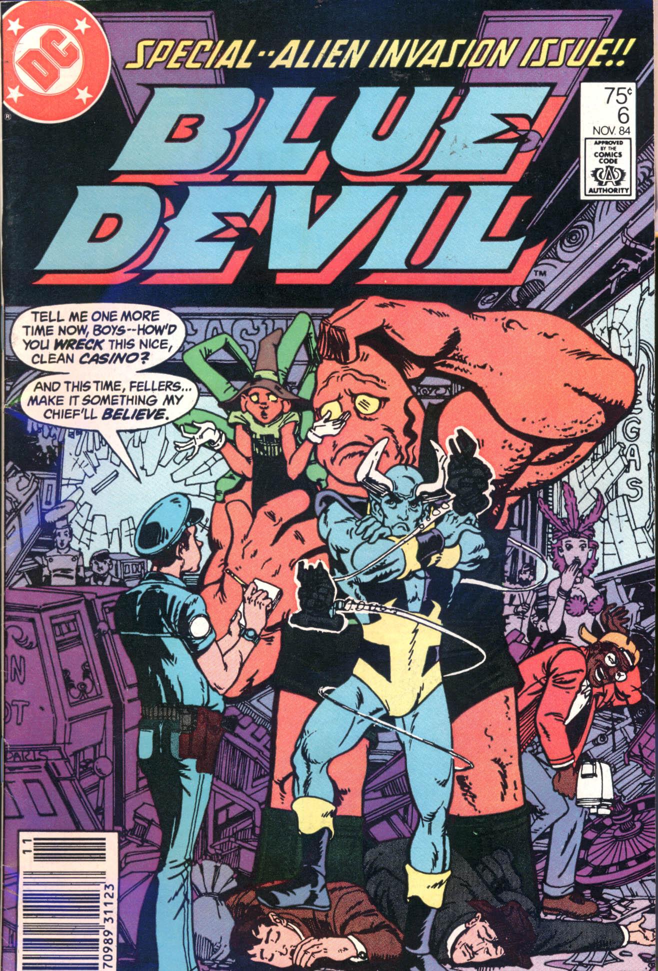 Blue Devil 6 Page 1