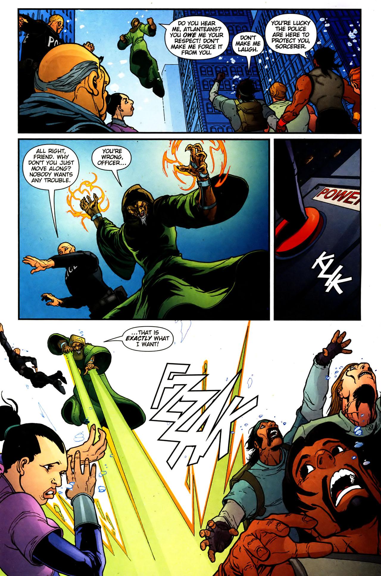Read online Aquaman (2003) comic -  Issue #39 - 9