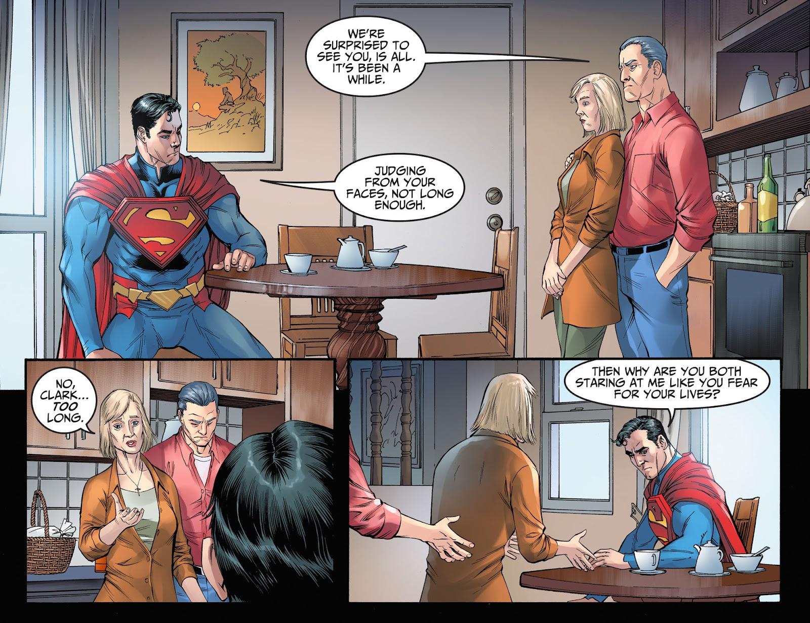 Injustice: Gods Among Us Year Four Issue #3 #4 - English 10