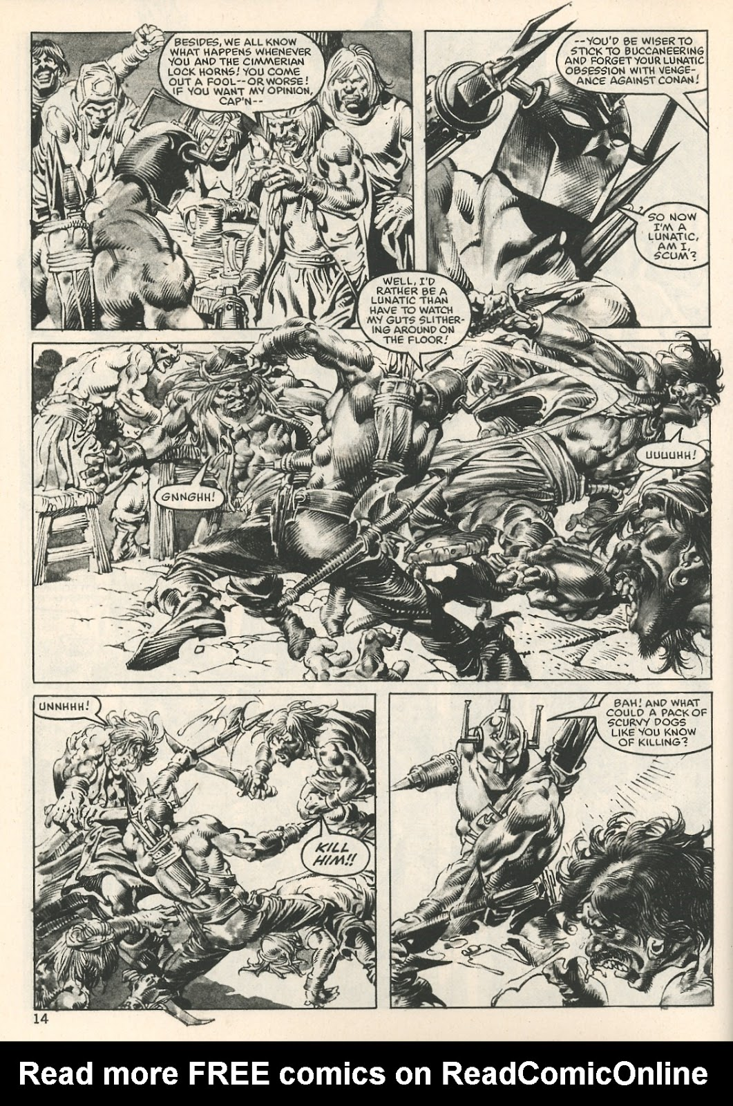 The Savage Sword Of Conan Issue #107 #108 - English 14