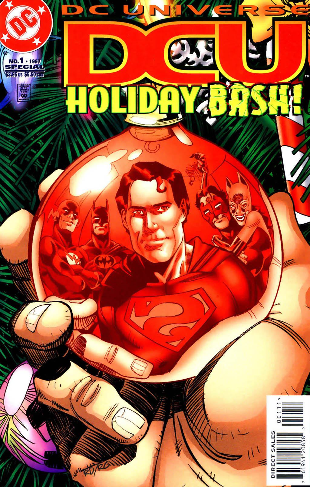 DC Universe Holiday Bash 1 Page 1