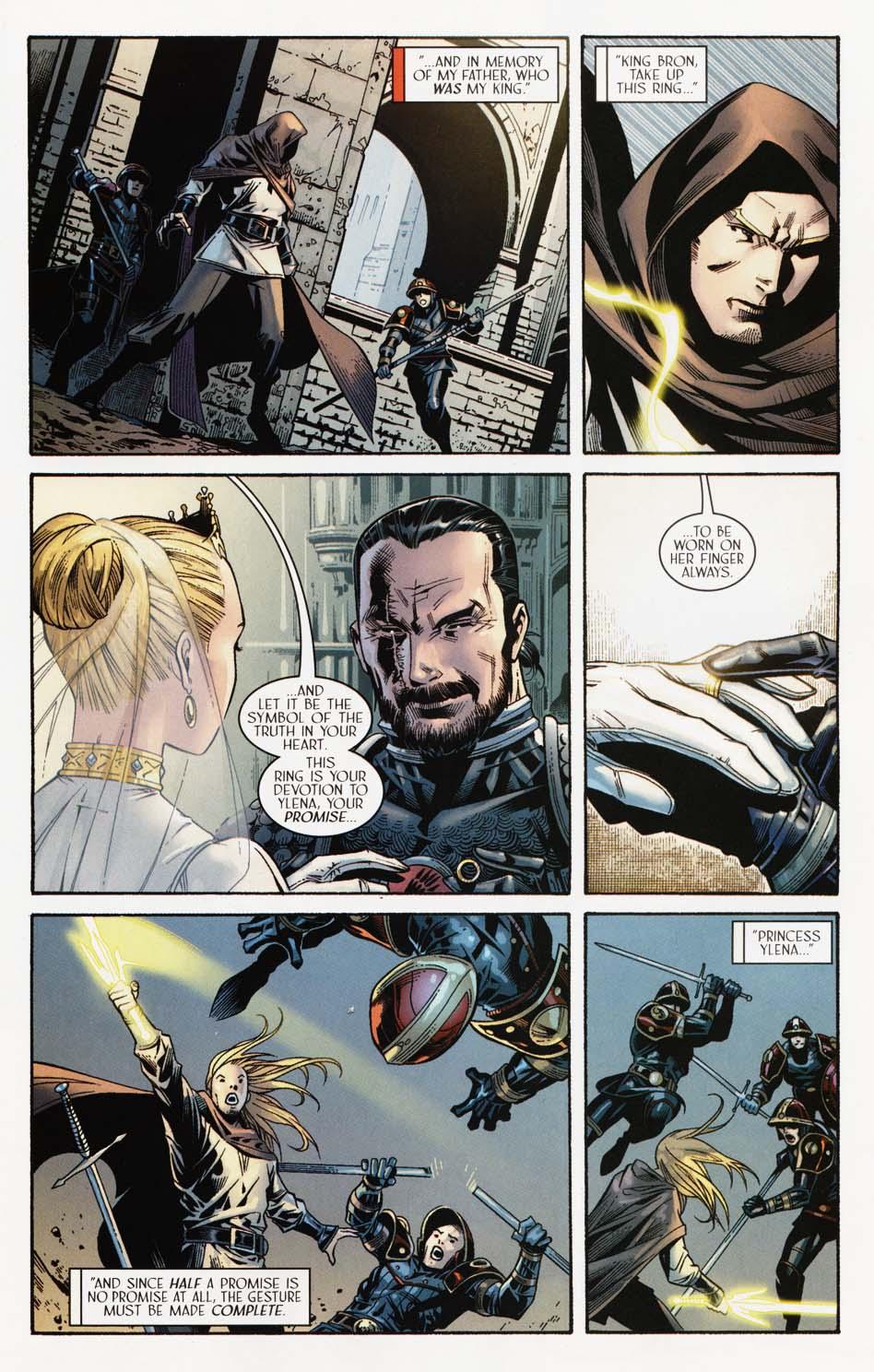 Read online Scion comic -  Issue #35 - 17