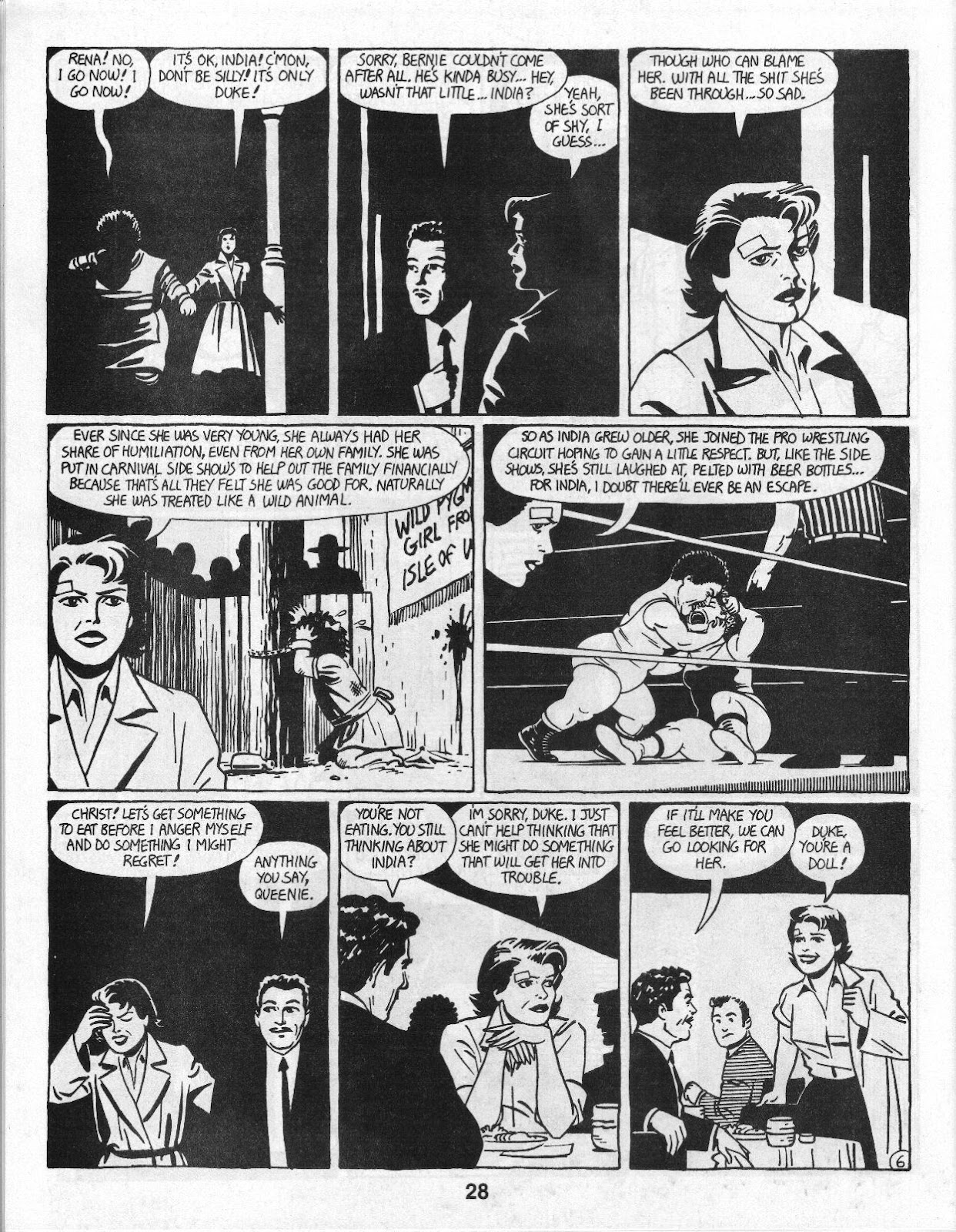 Love and Rockets (1982) Issue #14 #13 - English 30