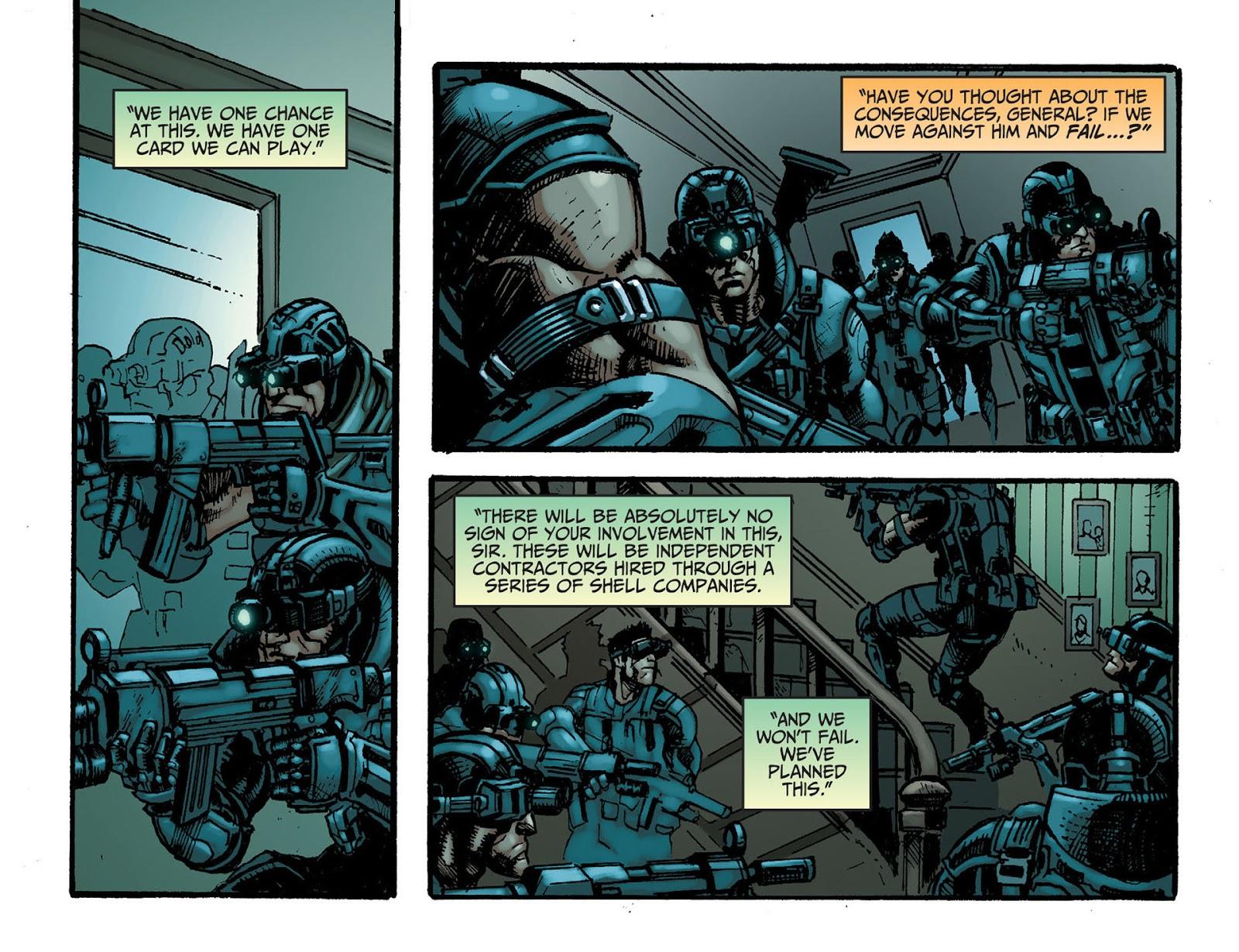 Injustice: Gods Among Us [I] Issue #7 #8 - English 11