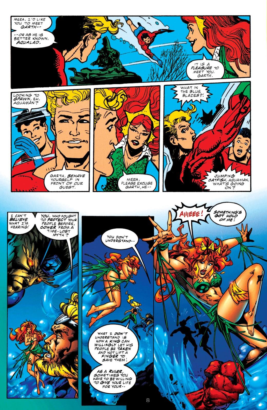 Aquaman (1994) Issue #52 #58 - English 8