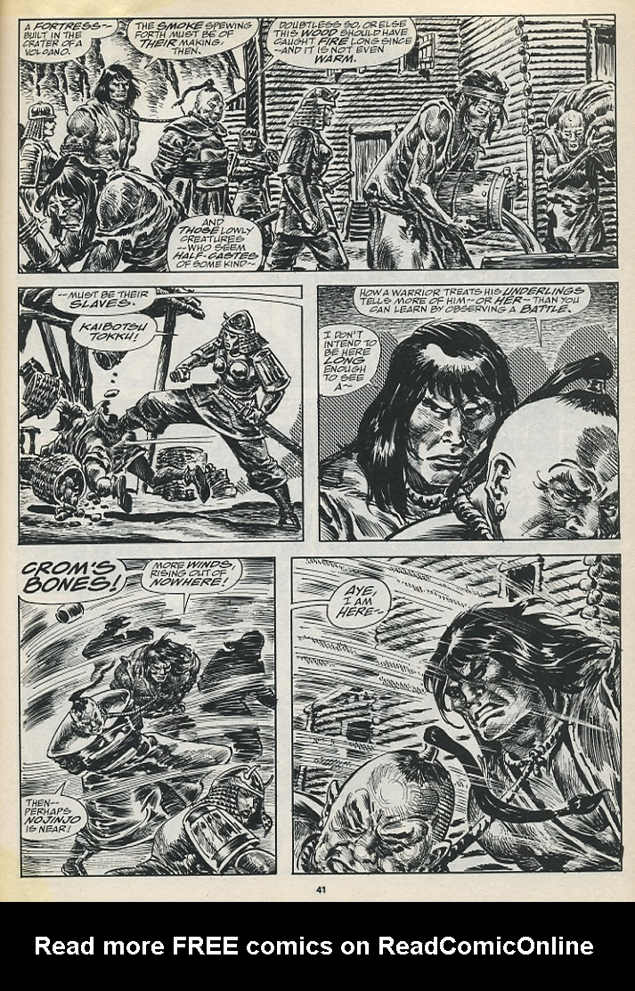 The Savage Sword Of Conan Issue #194 #195 - English 43