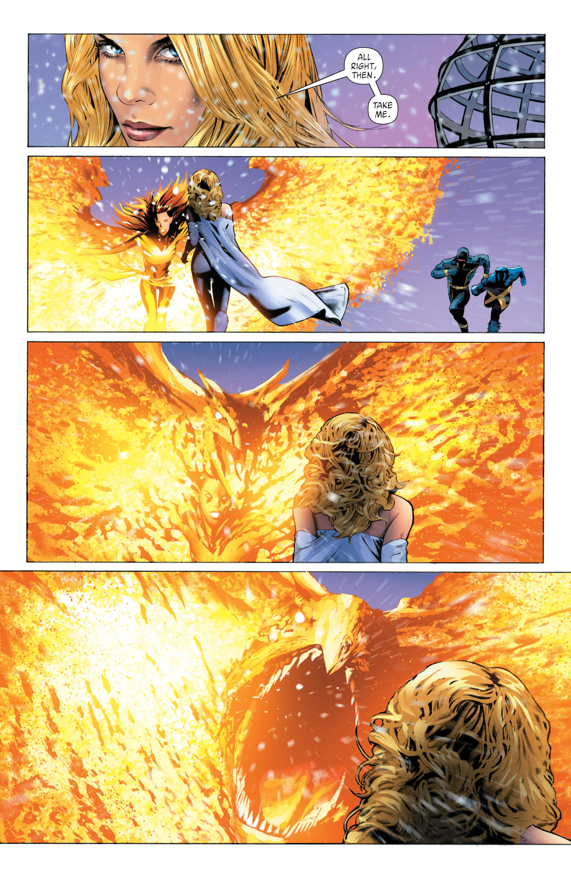 Read online X-Men: Phoenix - Endsong comic -  Issue #4 - 13