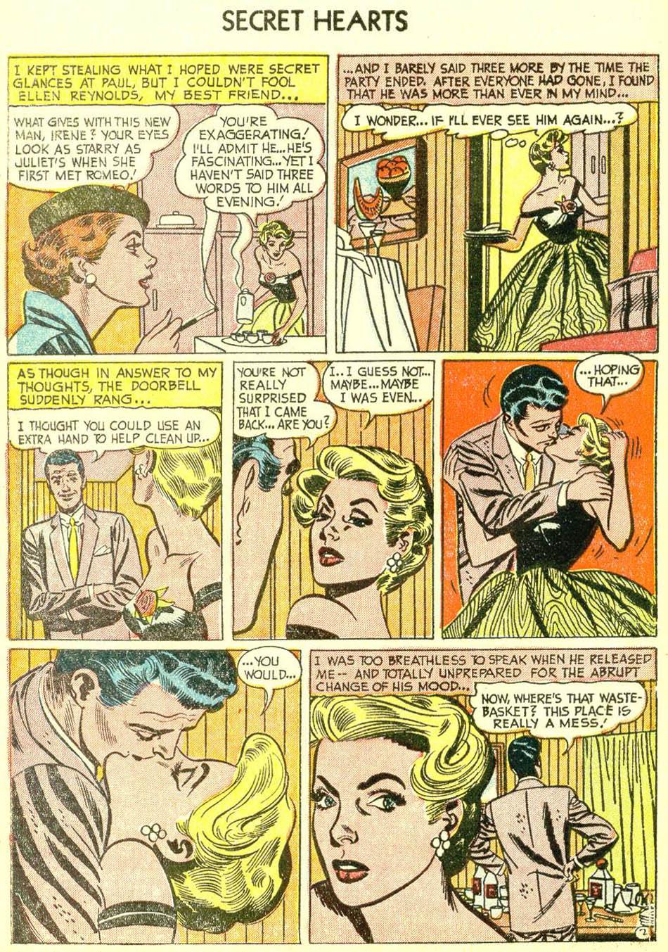 Read online Secret Hearts comic -  Issue #21 - 4