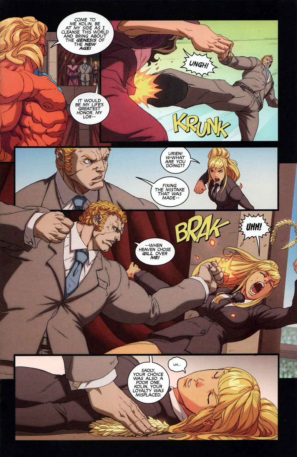Street Fighter Unlimited Issue #10 #12 - English 13