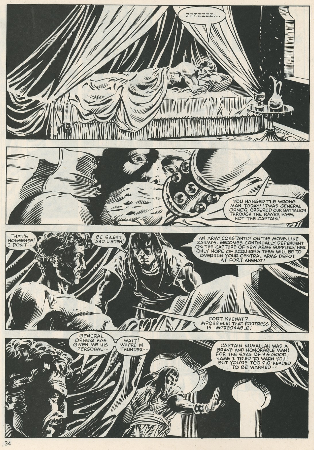 The Savage Sword Of Conan Issue #112 #113 - English 35