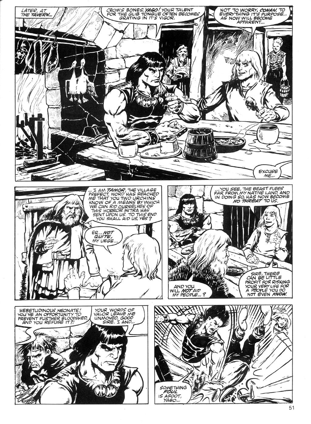 The Savage Sword Of Conan Issue #91 #92 - English 48