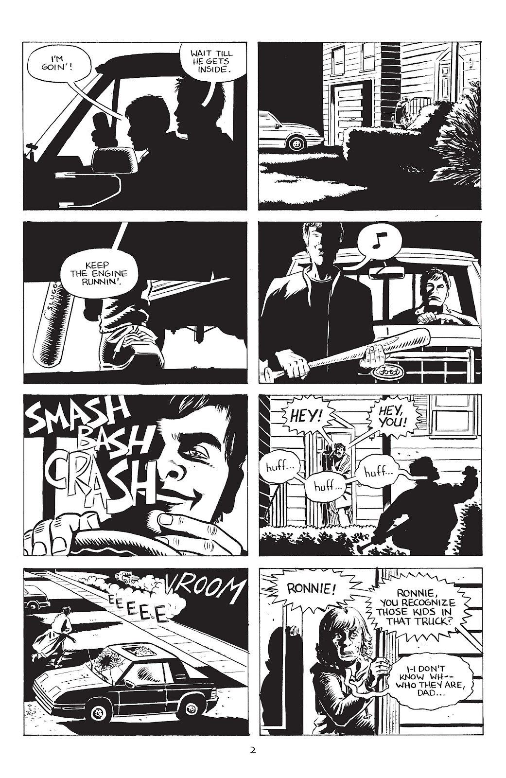 Stray Bullets Issue #34 #34 - English 4