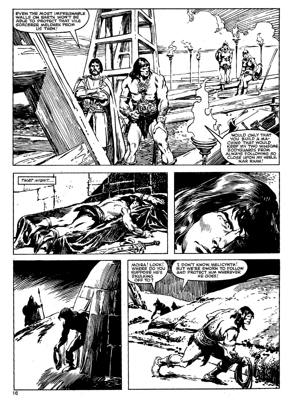 The Savage Sword Of Conan Issue #90 #91 - English 15
