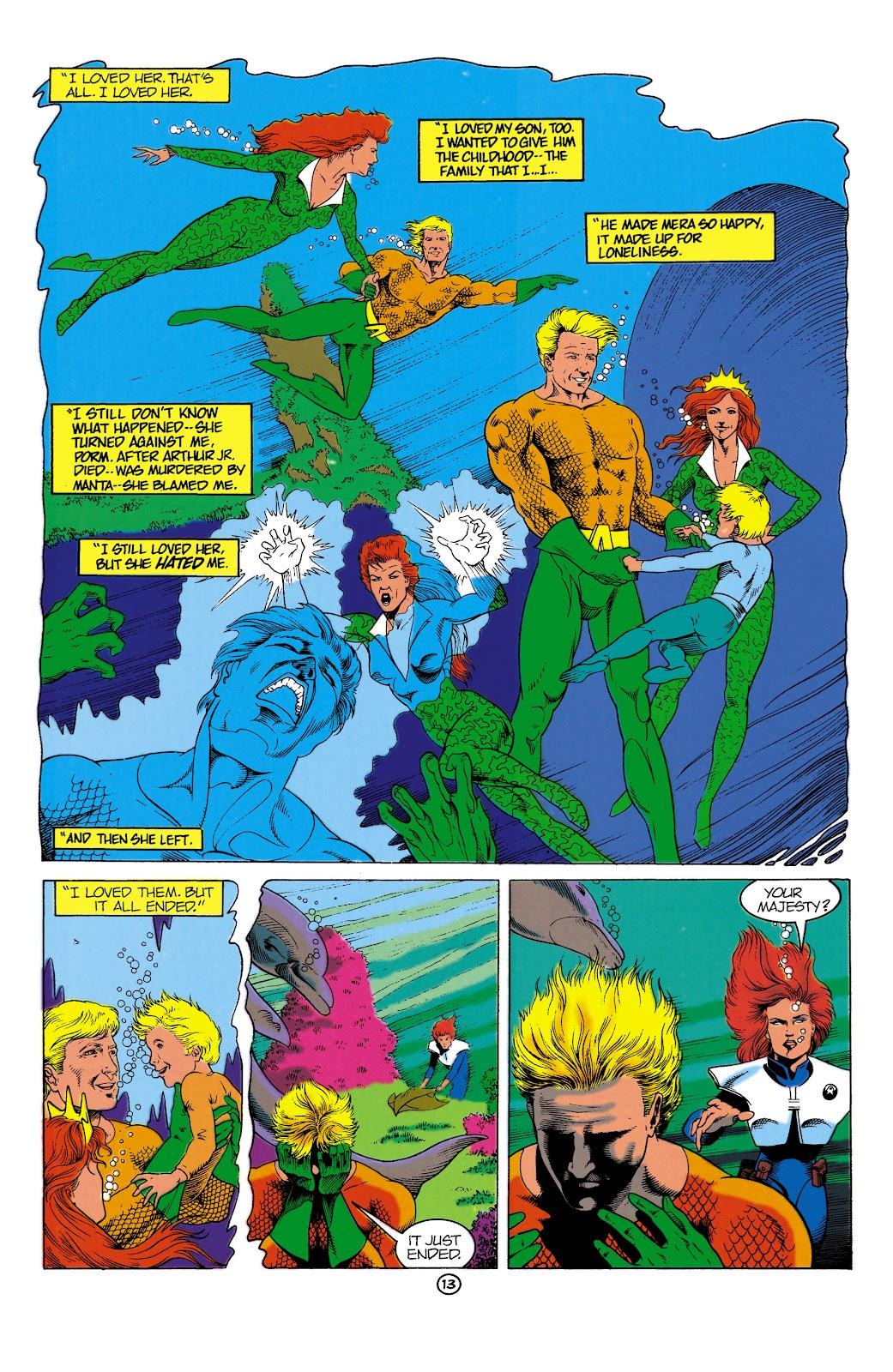 Aquaman (1991) Issue #1 #1 - English 13