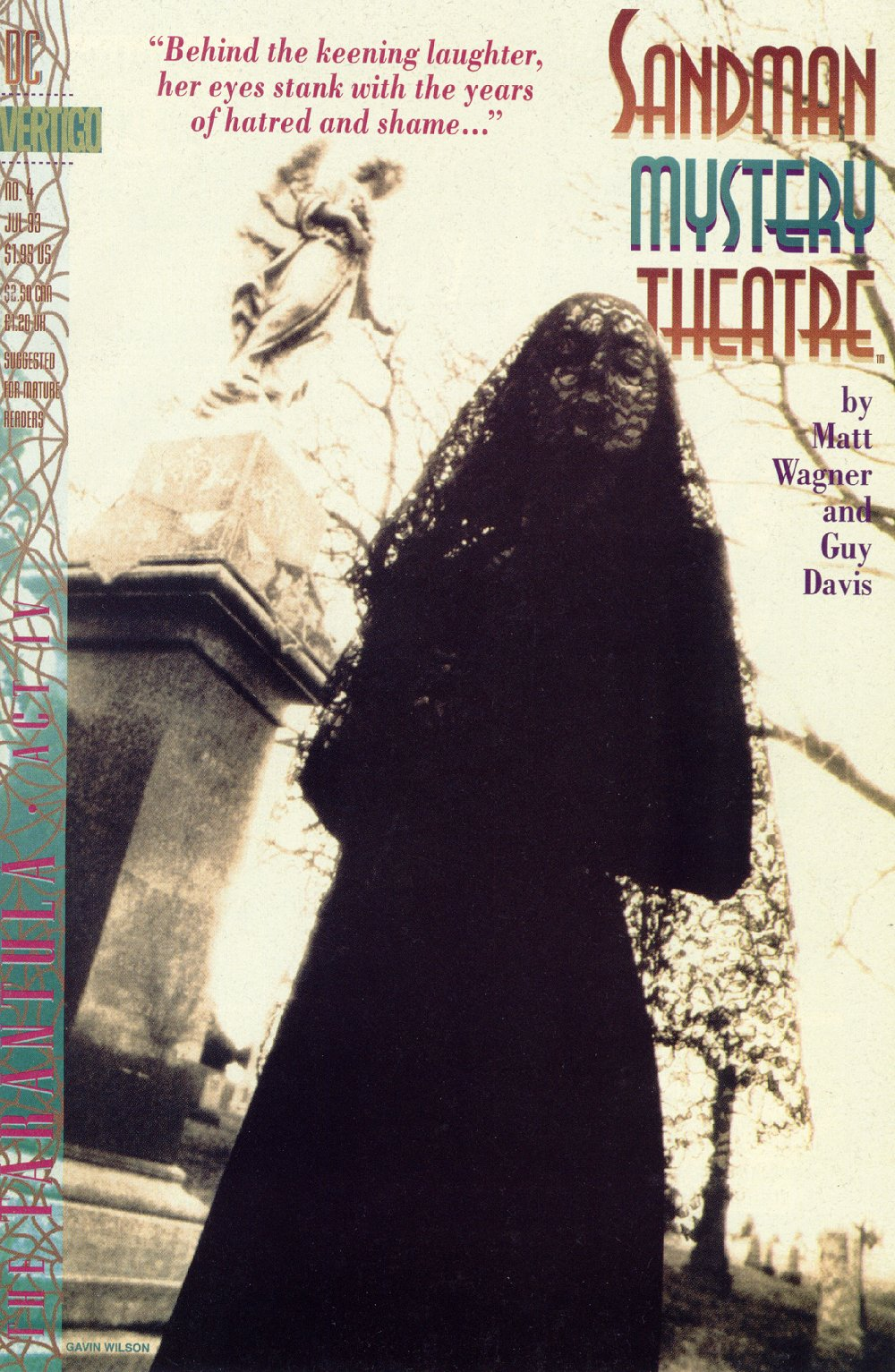 Sandman Mystery Theatre 4 Page 1