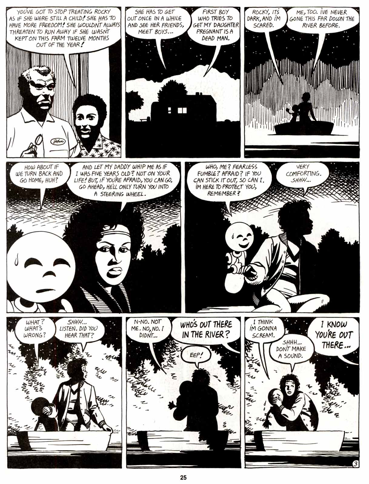 Love and Rockets (1982) Issue #9 #8 - English 27