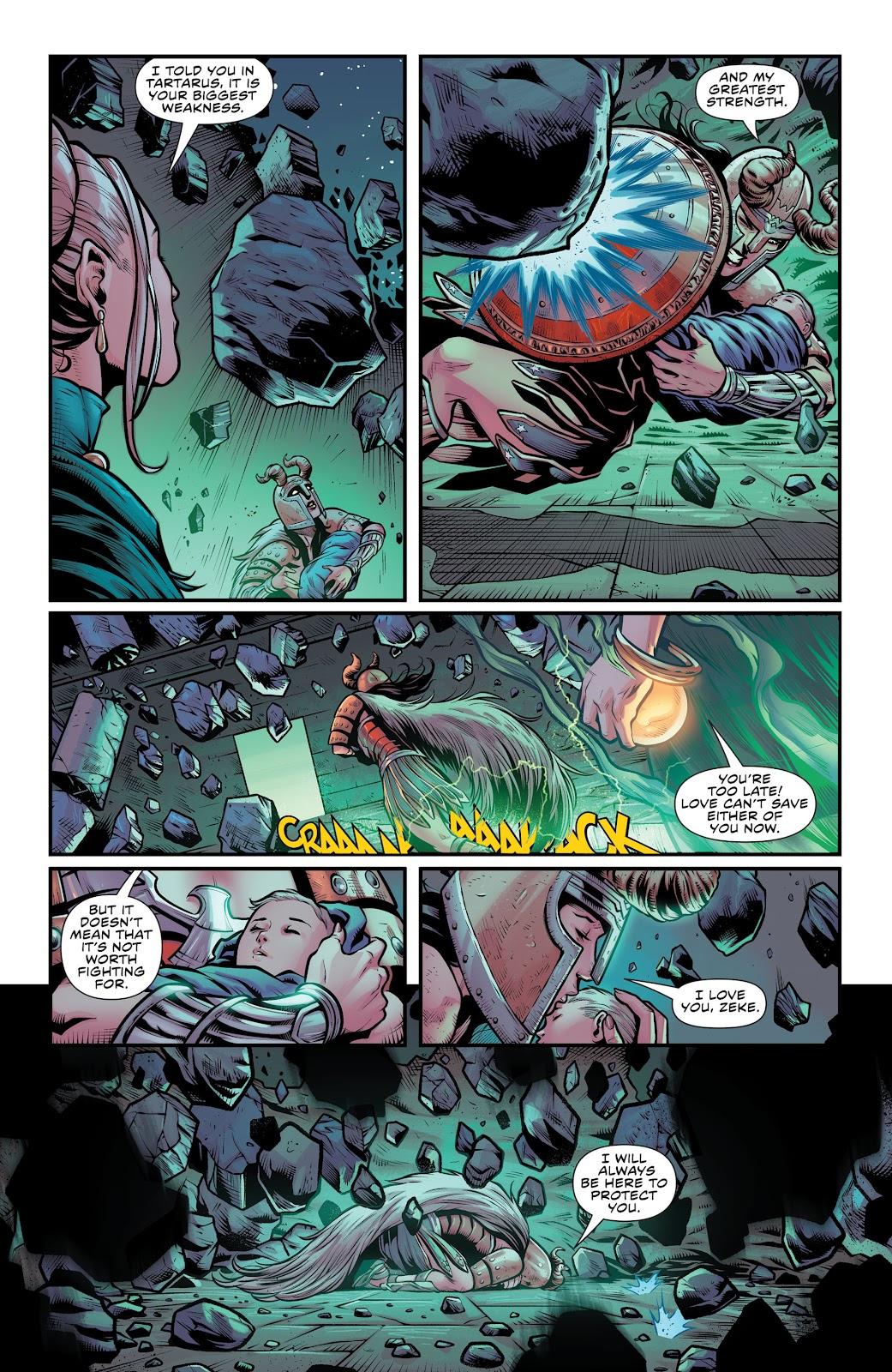 Wonder Woman (2011) Issue #52 #56 - English 21