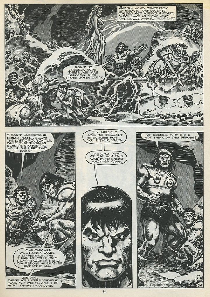 The Savage Sword Of Conan Issue #173 #174 - English 36