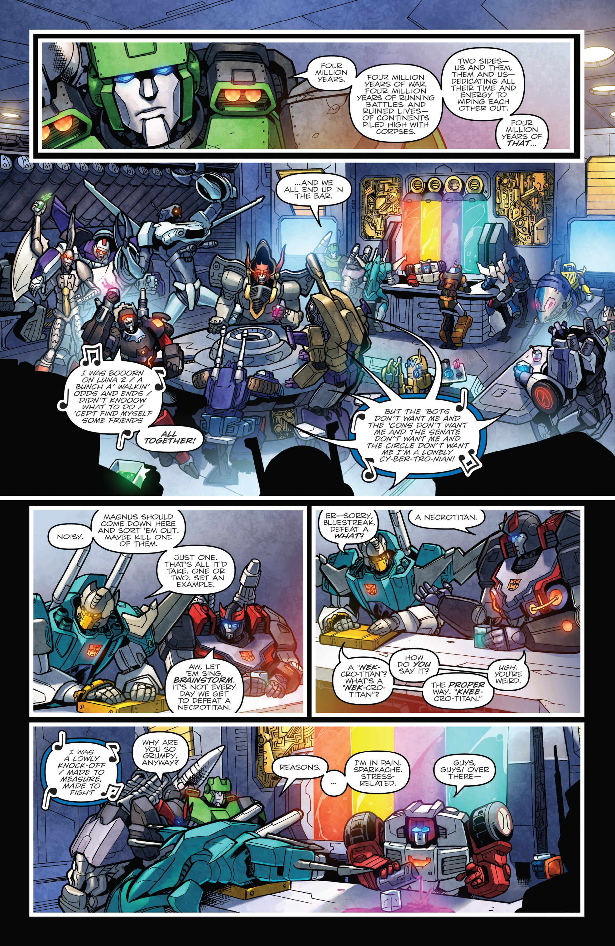 Read online The Transformers: Dark Cybertron Finale comic -  Issue # Full - 86
