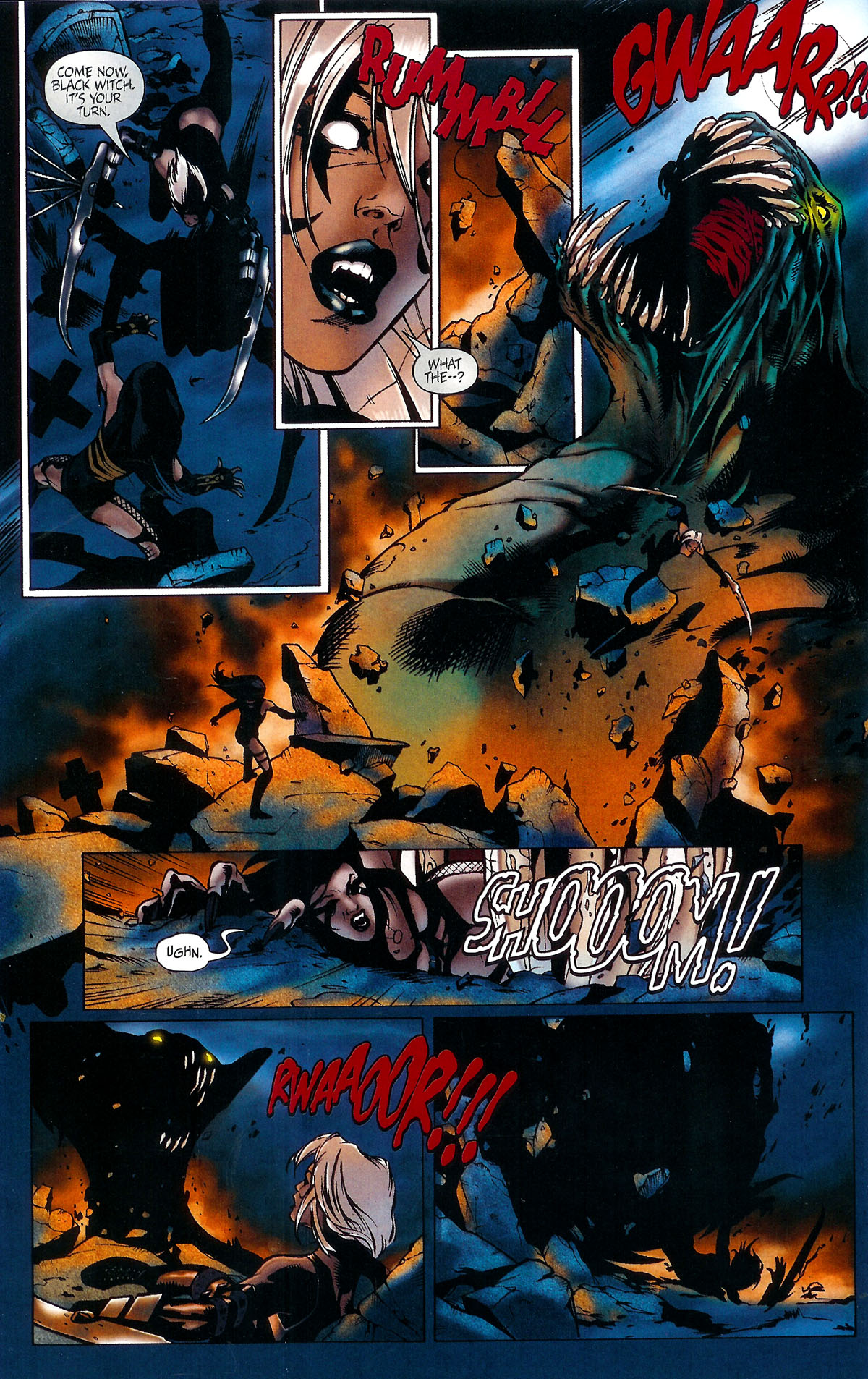 Read online BloodRayne: Dark Soul comic -  Issue # Full - 19