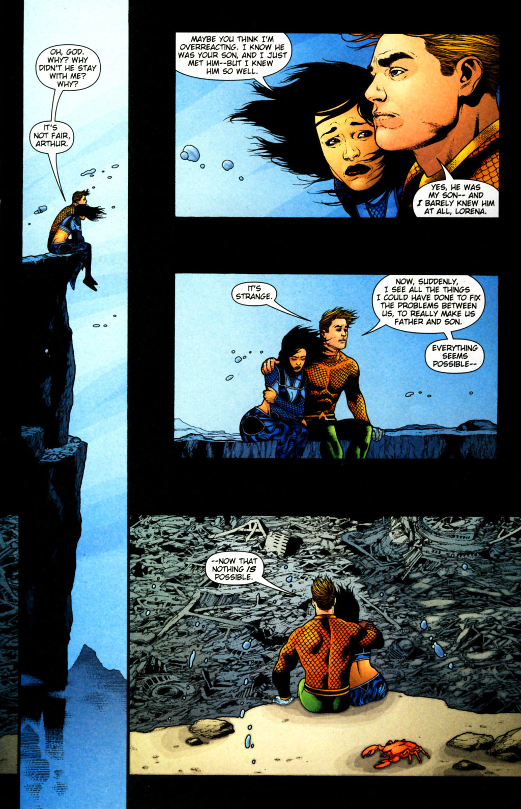 Read online Aquaman (2003) comic -  Issue #38 - 12