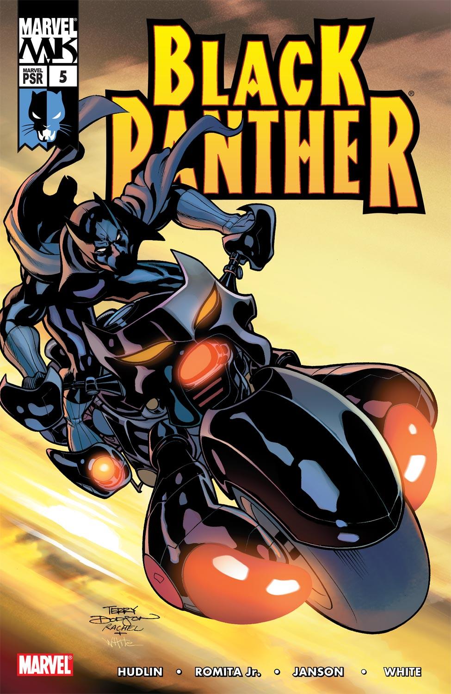 Black Panther (2005) 5 Page 1