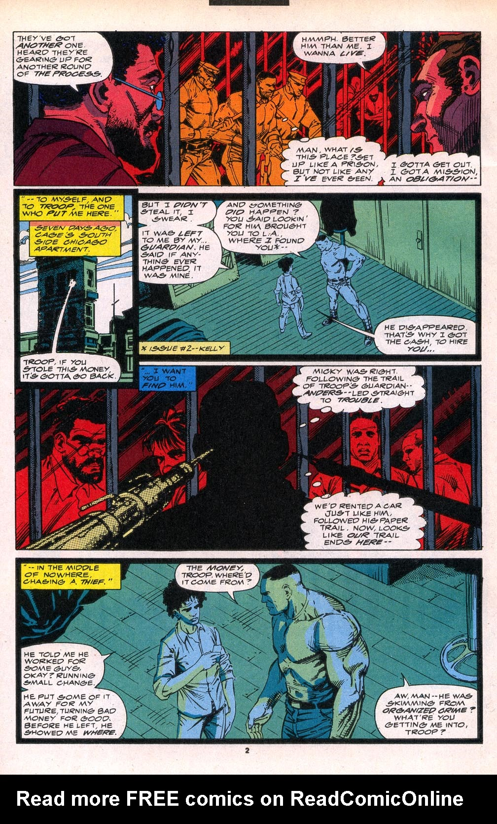 Cage (1992) 6 Page 2