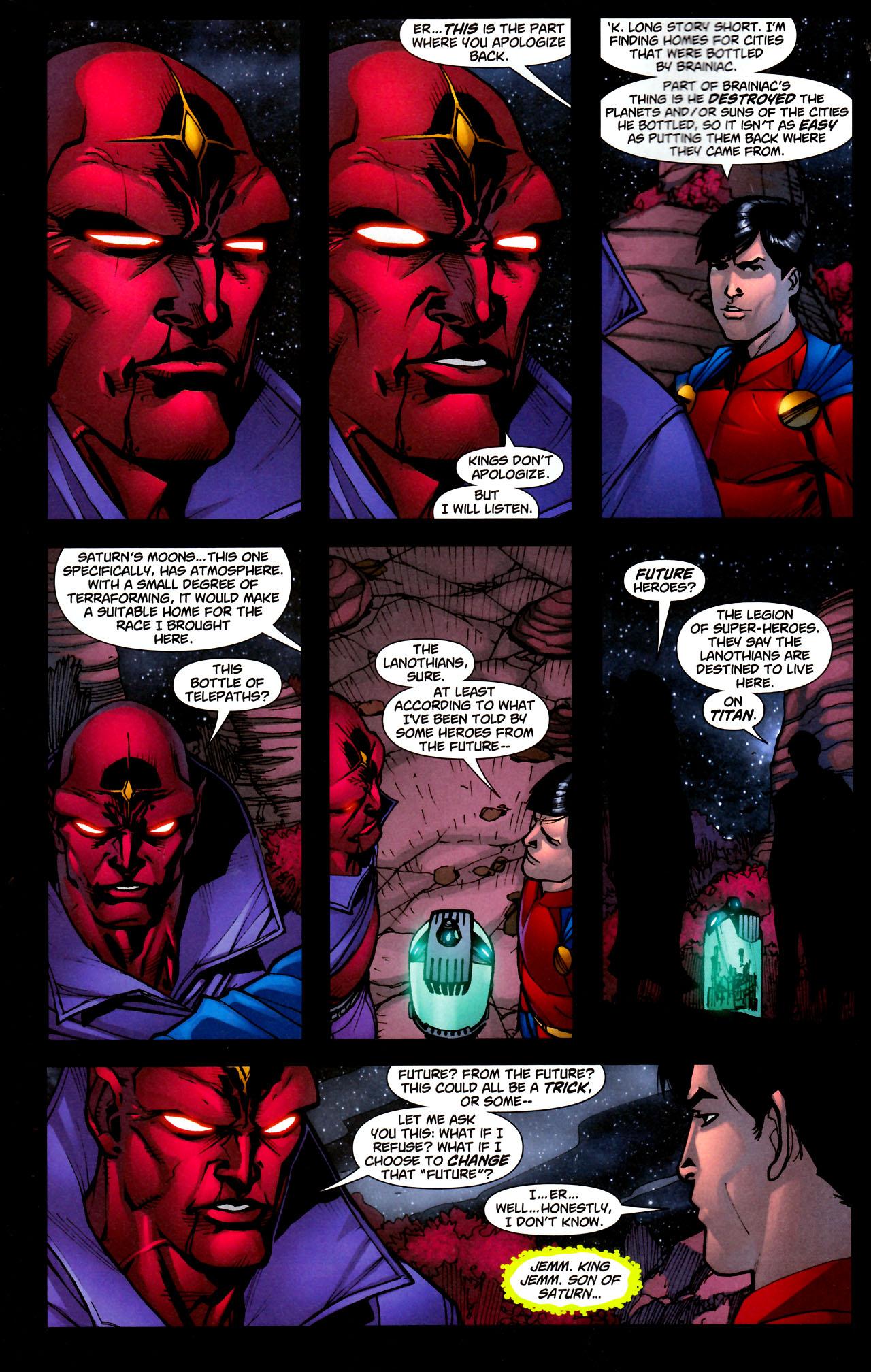 Read online Adventure Comics (2009) comic -  Issue #11 - 16