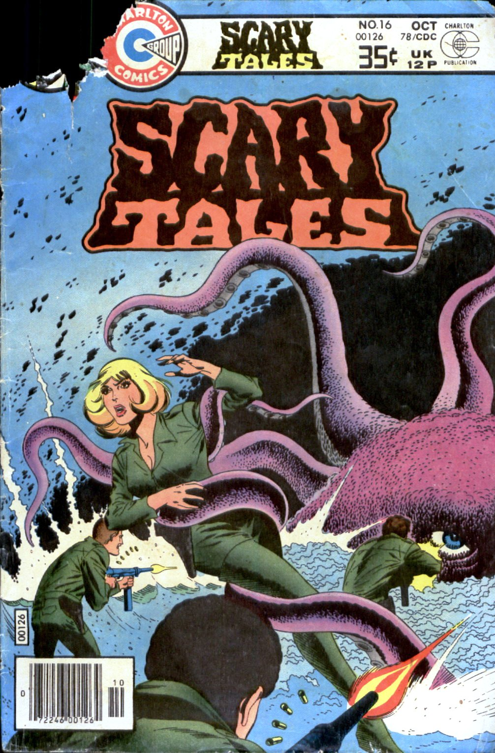 Read online Scary Tales comic -  Issue #16 - 1