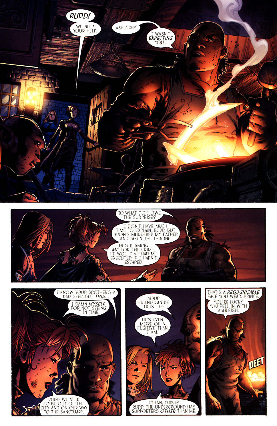 Read online Scion comic -  Issue #14 - 18
