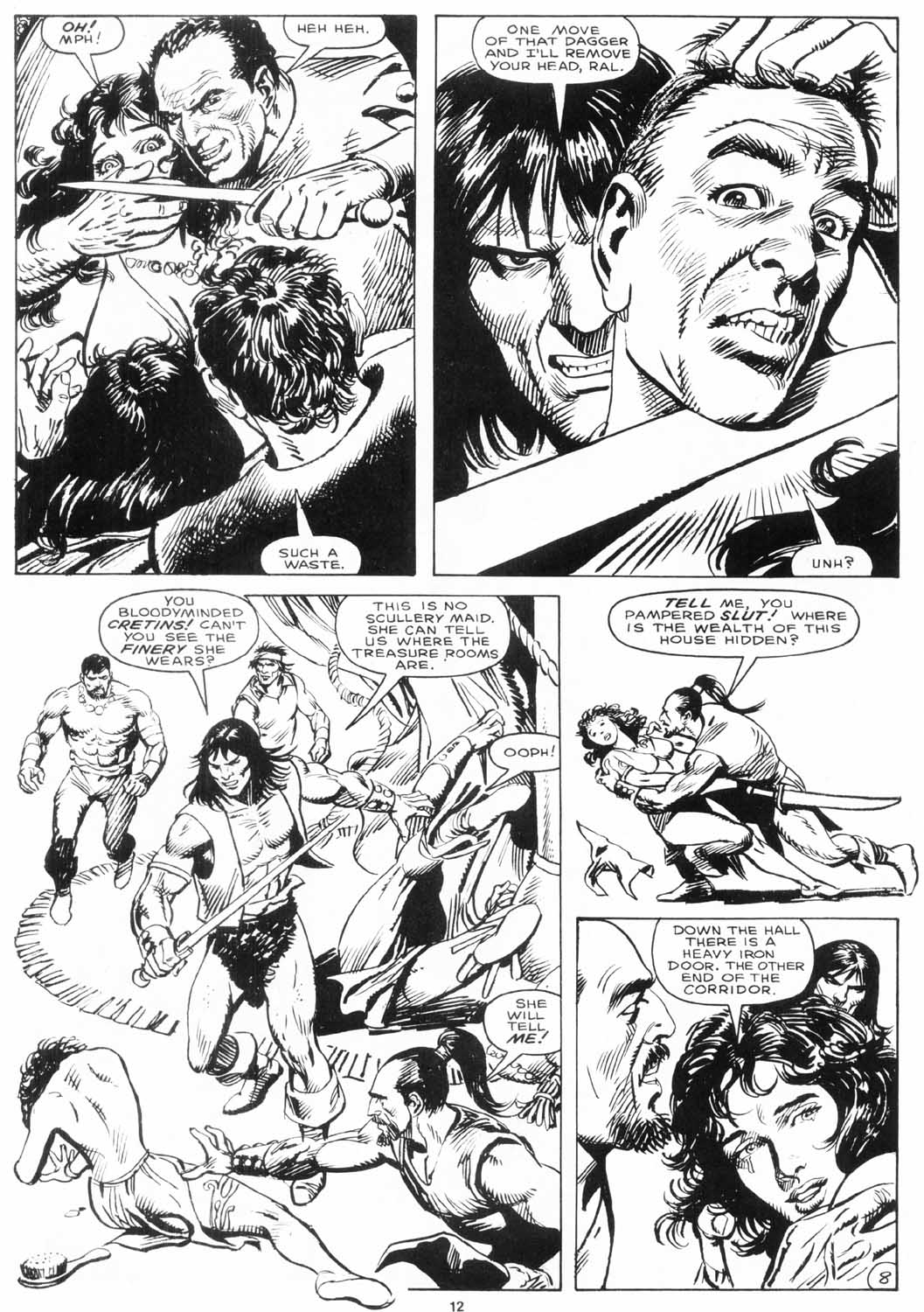 The Savage Sword Of Conan Issue #156 #157 - English 13