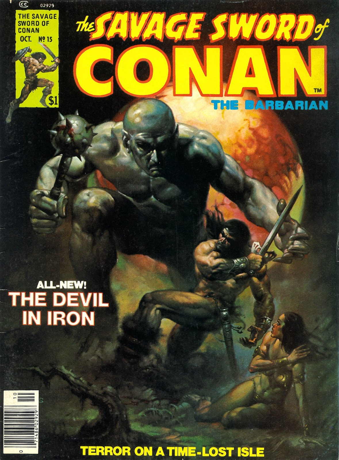 The Savage Sword Of Conan Issue #15 #16 - English 1