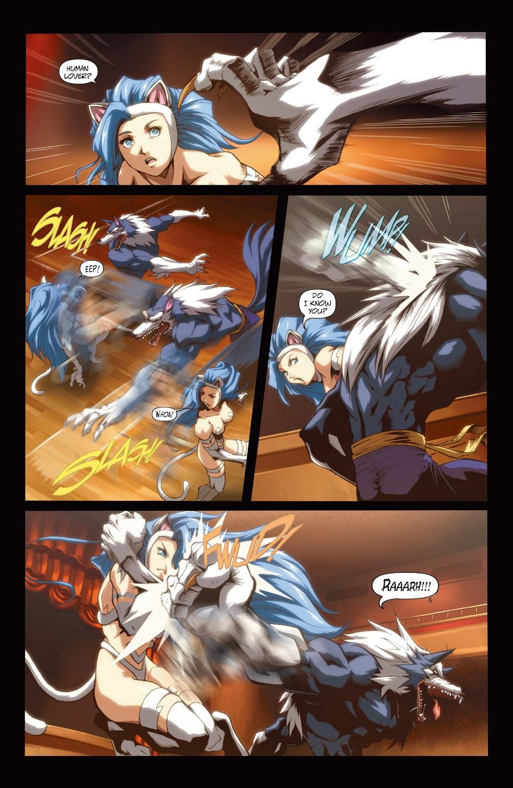 Darkstalkers Issue #3 #4 - English 14