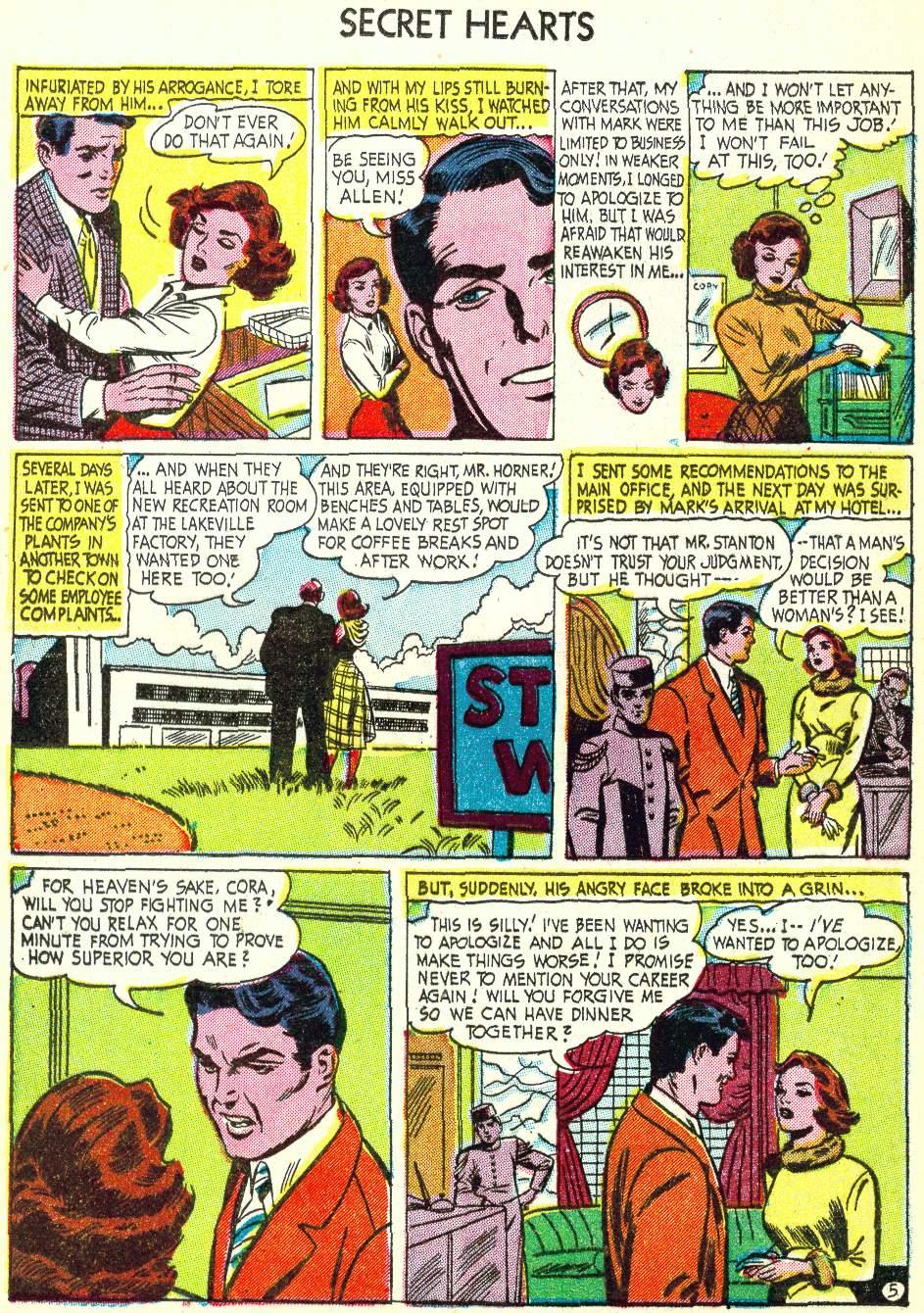 Read online Secret Hearts comic -  Issue #22 - 20