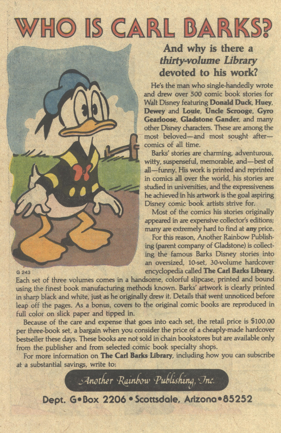 Uncle Scrooge (1953) Issue #220 #220 - English 26