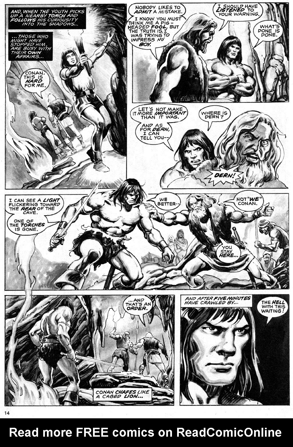 The Savage Sword Of Conan Issue #69 #70 - English 14
