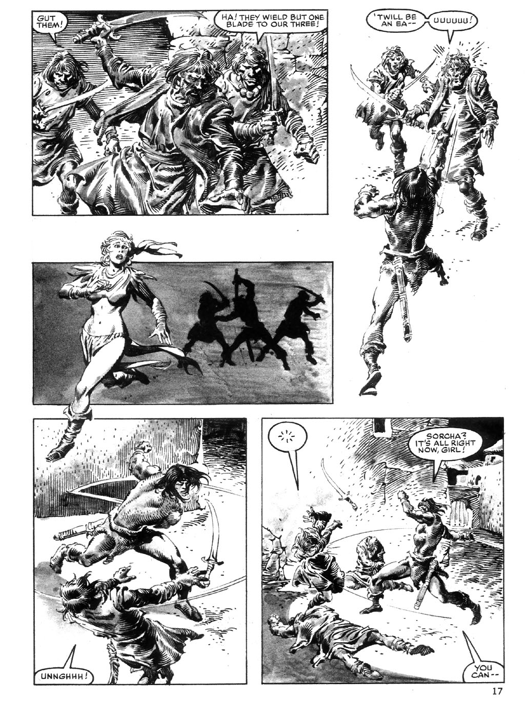 The Savage Sword Of Conan Issue #98 #99 - English 17