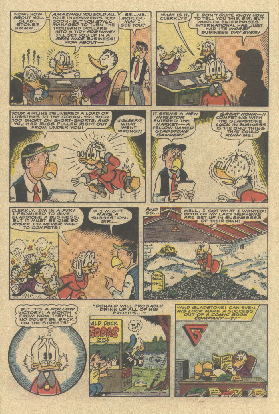 Uncle Scrooge (1953) Issue #220 #220 - English 14