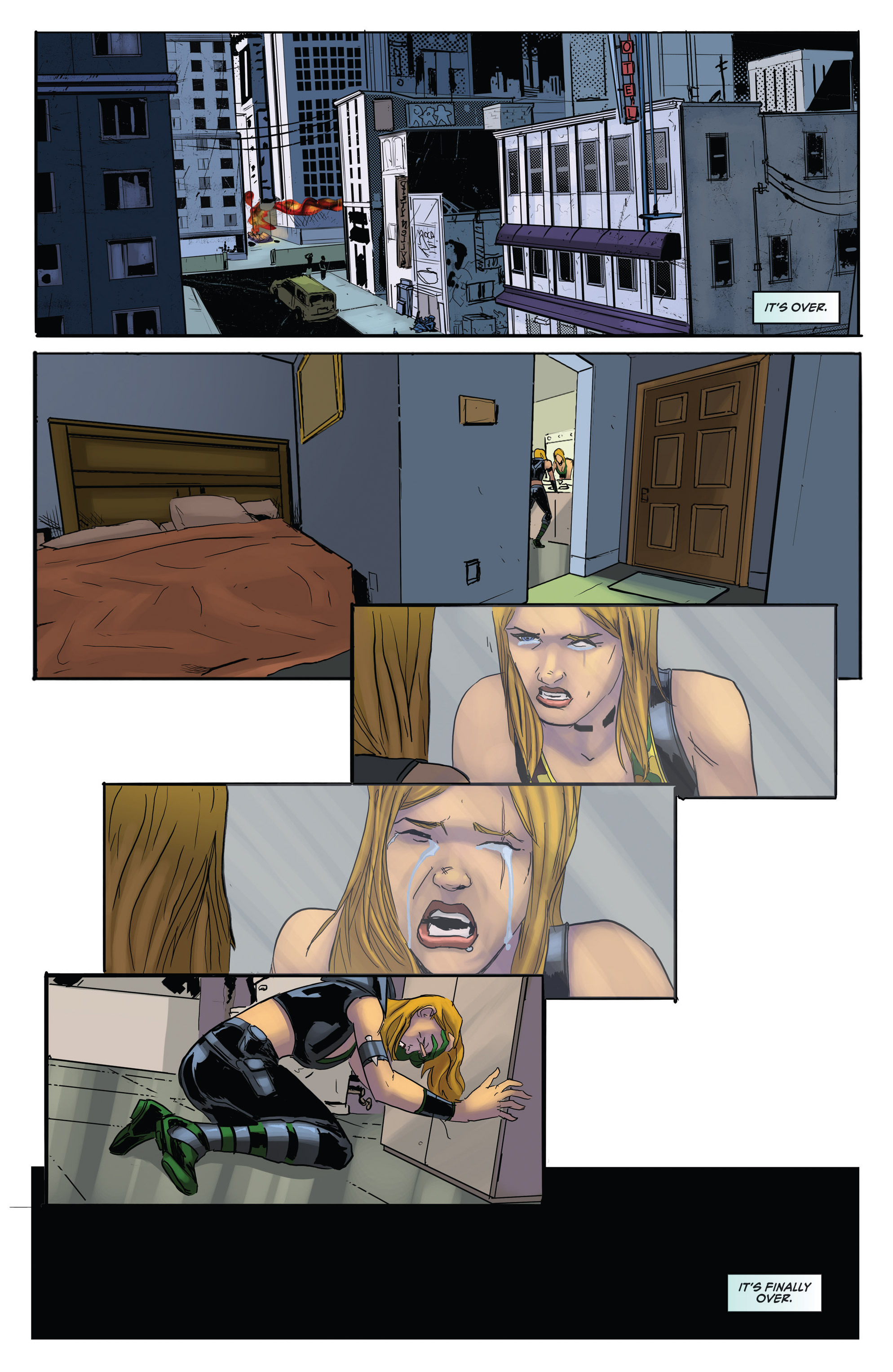 Read online Grimm Fairy Tales presents Robyn Hood (2012) comic -  Issue #5 - 36