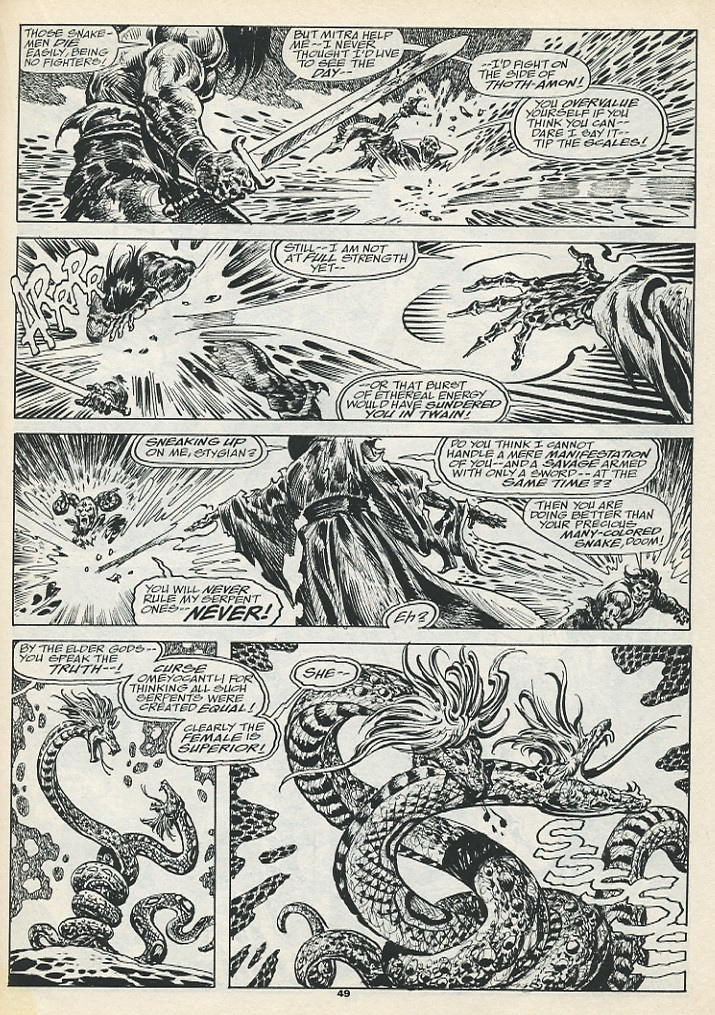 The Savage Sword Of Conan Issue #193 #194 - English 51