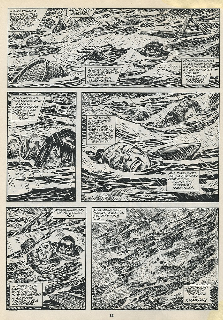 The Savage Sword Of Conan Issue #194 #195 - English 34