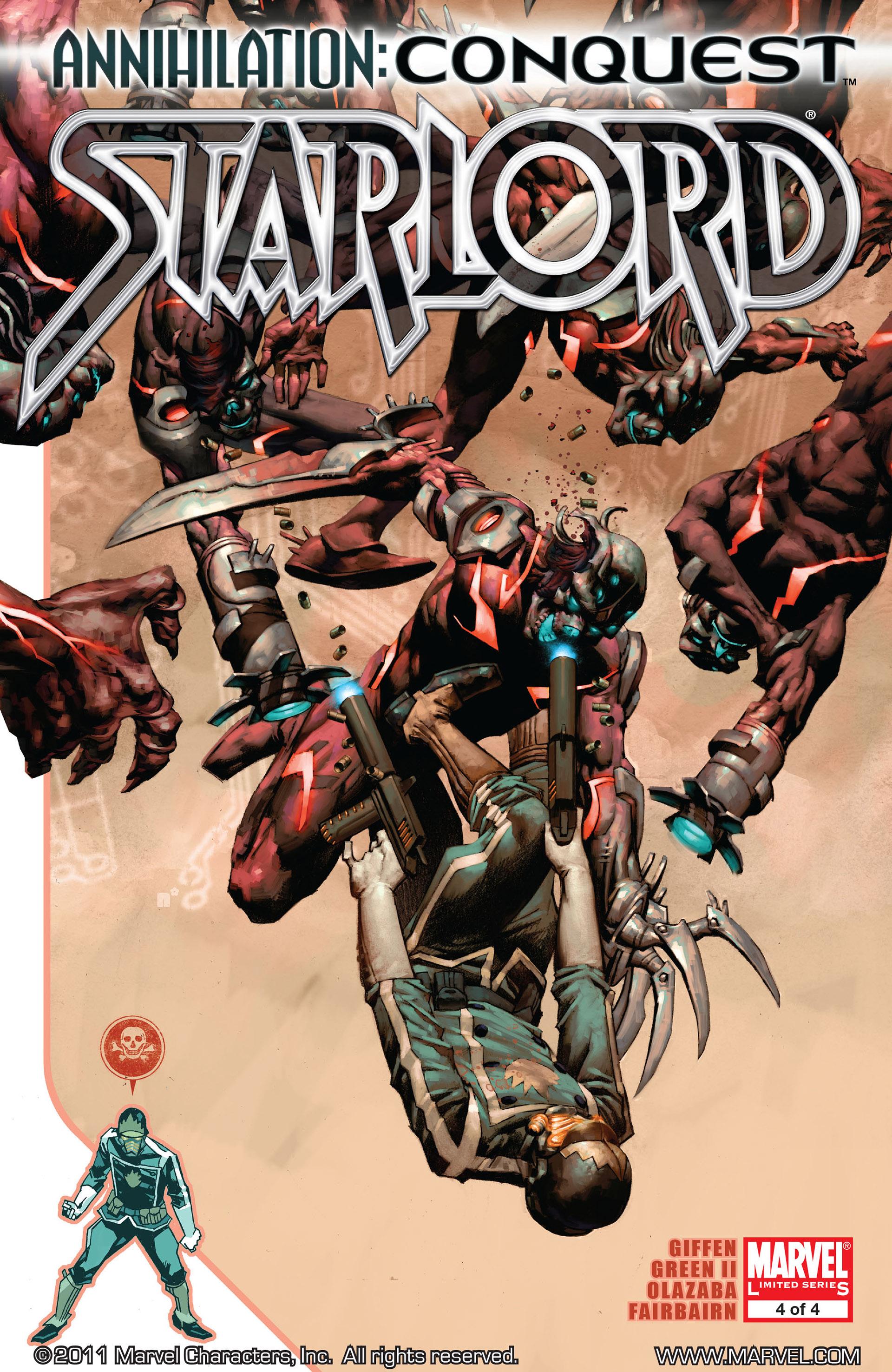 Annihilation: Conquest - Starlord 4 Page 1