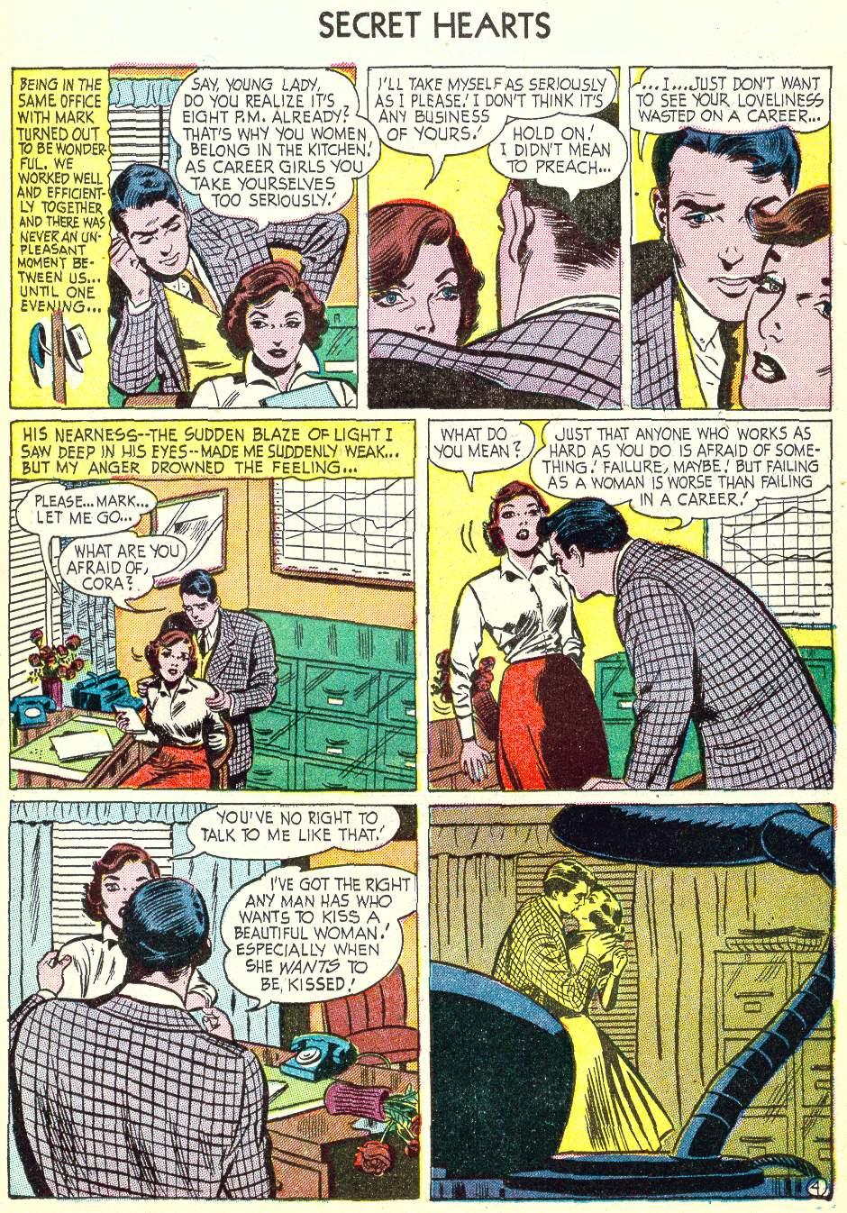 Read online Secret Hearts comic -  Issue #22 - 19