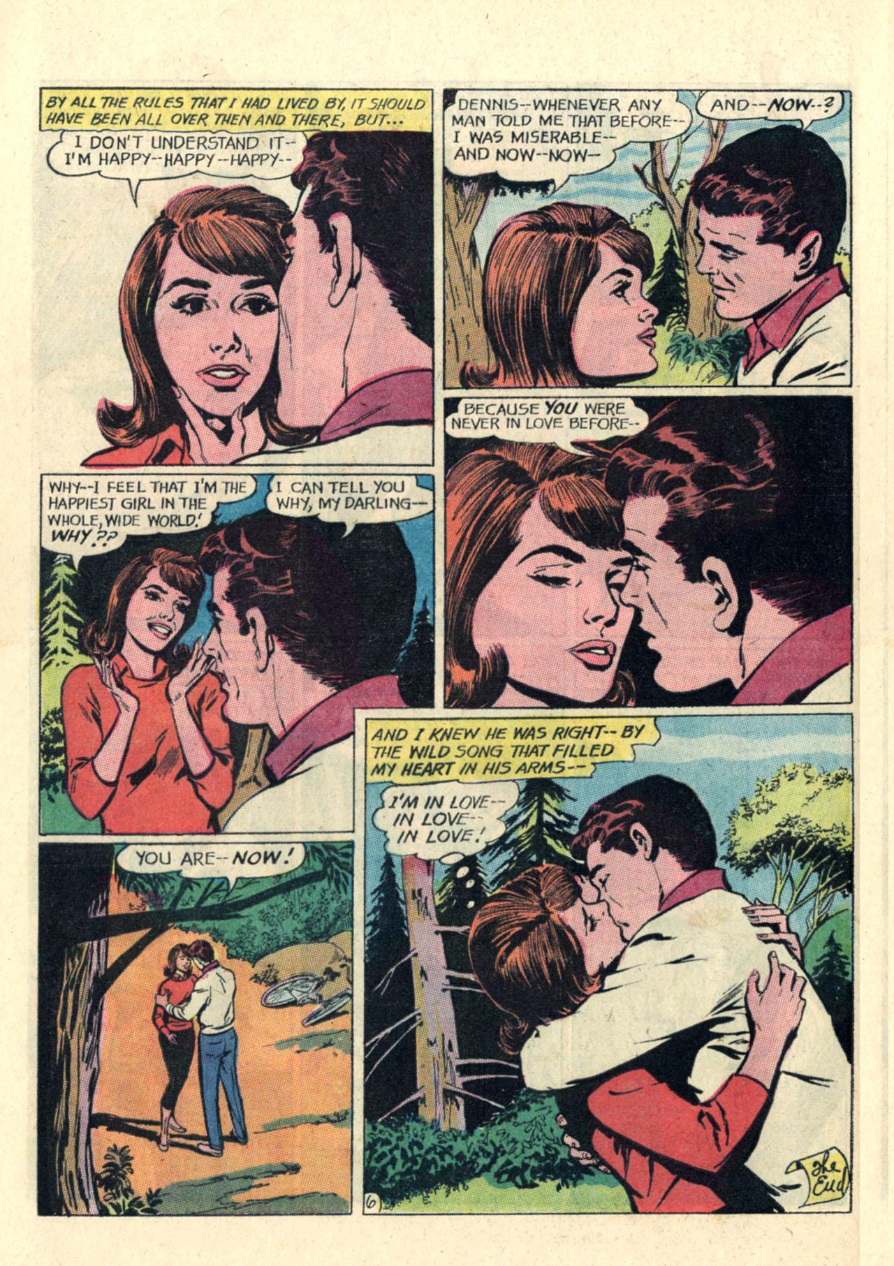 Read online Secret Hearts comic -  Issue #112 - 8